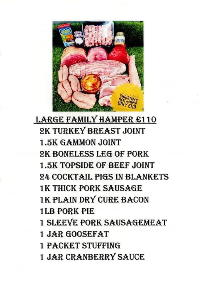 Christmas butchers hamper
