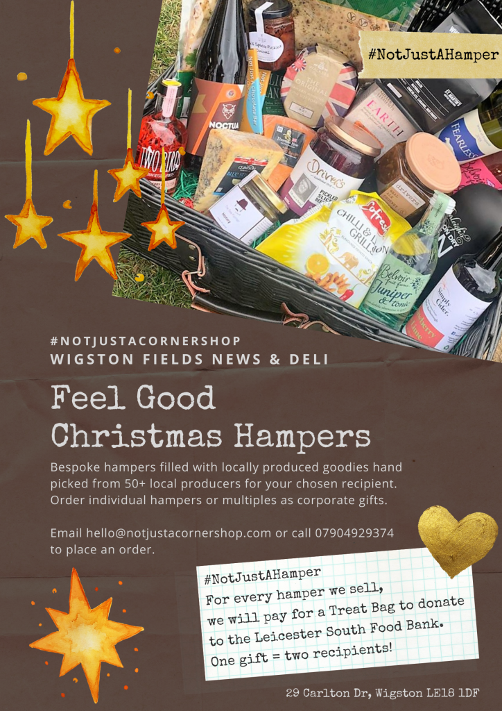 Feel Good Christmas hampers and corporate gifts Leicester